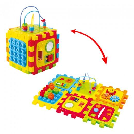 Cubo actividades convertible PlayGo