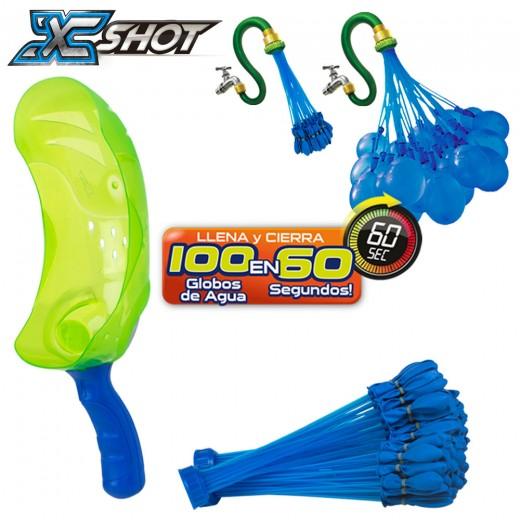 Bunch O Balloons Set globos con lanzador y 105 globos - 3 surtidos