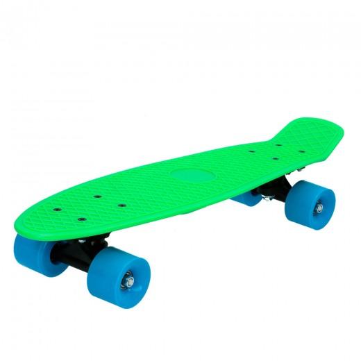 Monopatín con ruedas PVC - 55 cm