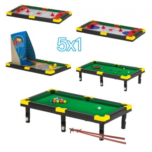 Set 5 juegos en 1 CB Games
