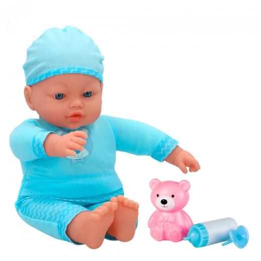 Bebé blandito y sonidos y accesorios de Colorbaby's - 41 cm