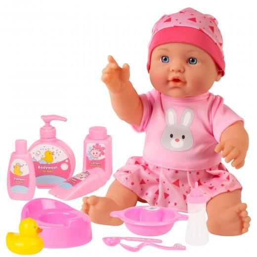 Bebé pipí con accesorios