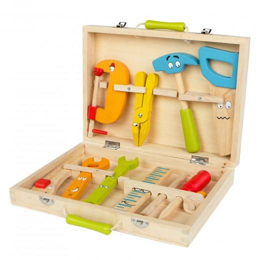 Maletín herramientas de madera WOOMAX