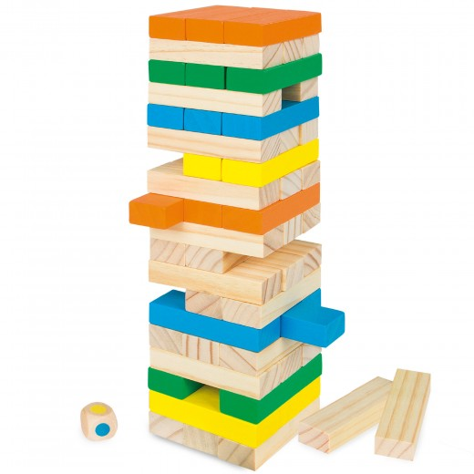 Torre de bloques madera WOOMAX