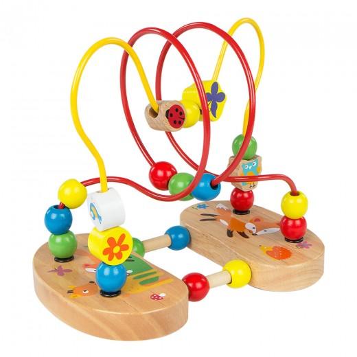 Laberinto de madera con ventosas Play & Learn