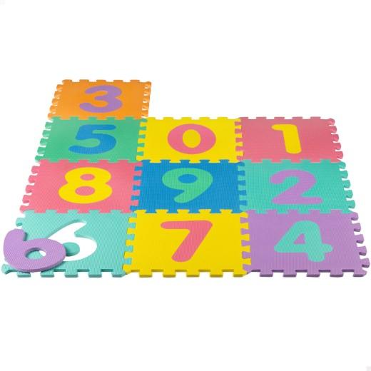 Alfombra puzle goma EVA números CB Toys