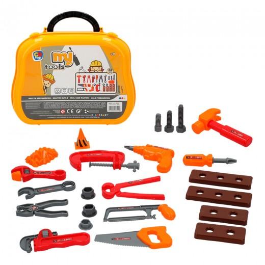Maletín herramientas juguete 22 piezas CB Toys