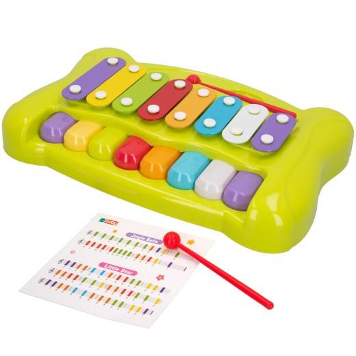 Piano y xilófono infantil 2 en 1 CB Toys