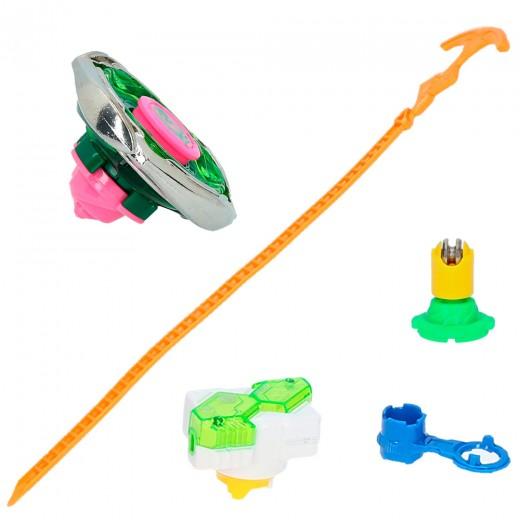 Infinity Nado Peonza Split con lanzador y punta intercambiable 3 modelos surtidos