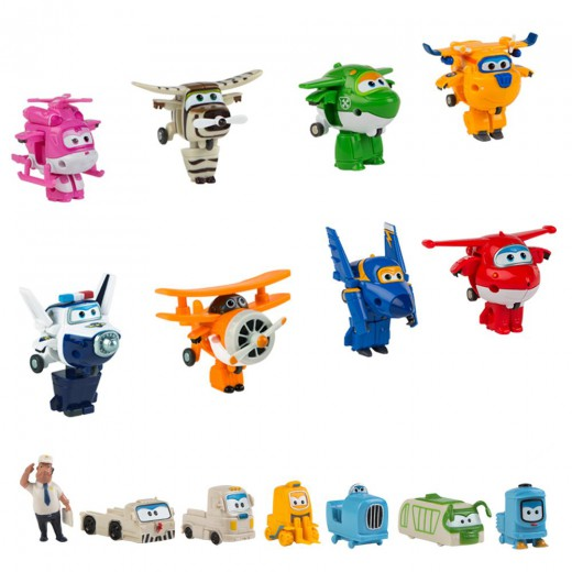 Pack personajes Super Wings