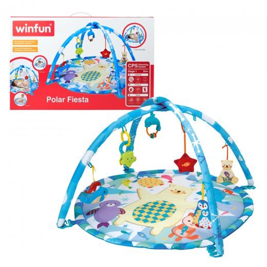 Alfombra de juegos Winfun para bebés