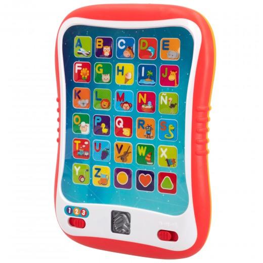 Tableta educativa luz y sonidos en español winfun
