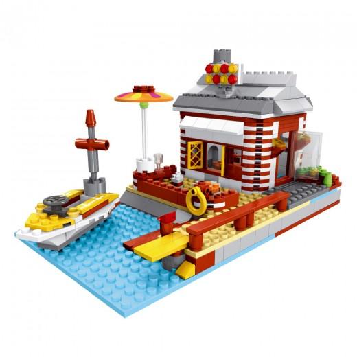 Juego de construcción Casa de Playa 3 en 1 de Ausini