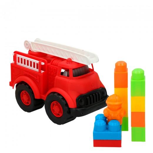 Juguete Sostenible - Camión bomberos CBtoys
