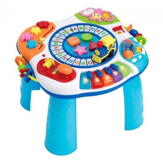 Mesa de actividades para bebés WinFun