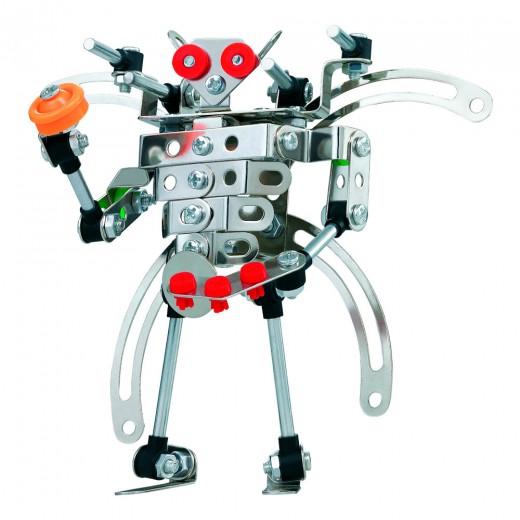 Juego de construcción Robot metal 142 piezas Smart Theory