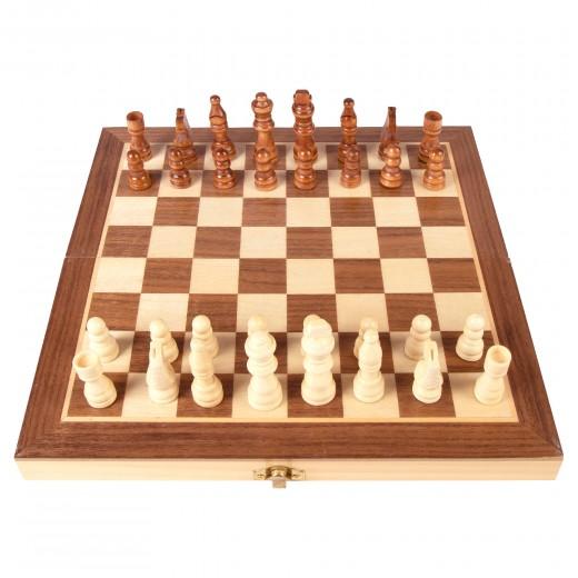 Juegos de mesa ajedrez estuche de madera CB Games