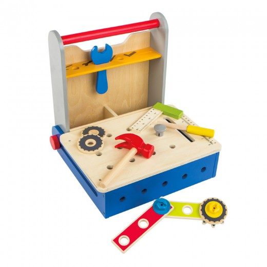 Caja herramientas de madera plegable Play&Learn