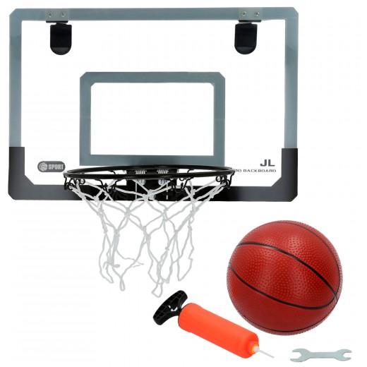 Tablero con canasta baloncesto y balón CB Sports