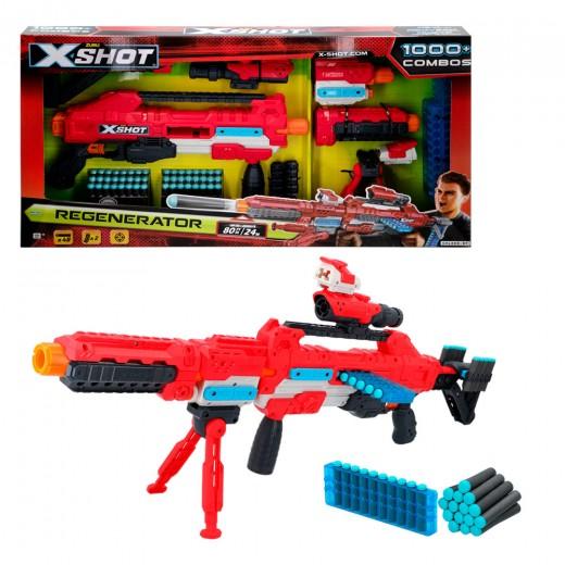 Rifle con munición Regenerator X-Shot