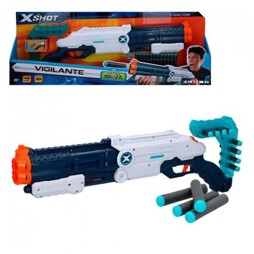 Rifle con munición Vigilante X-Shot