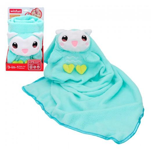 Manta blandita para bebés Búho Winfun