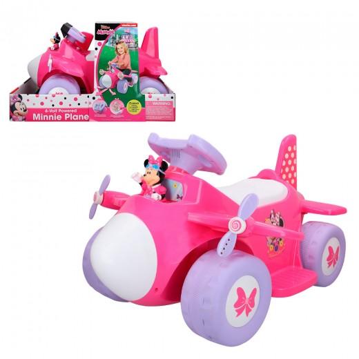 Correpasillos avión batería 6V Minnie Disney