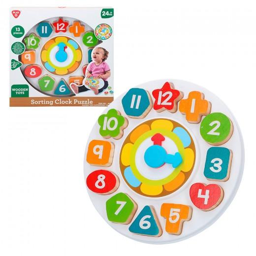 Reloj madera para niños PLAYGO