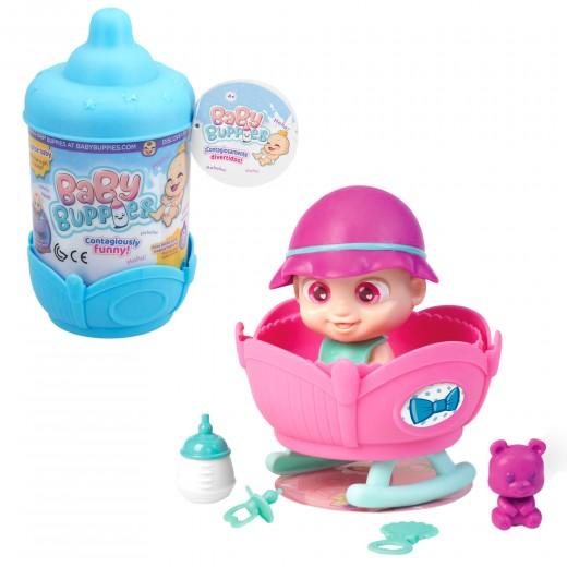 Bebé sonidos divertidos con accesorios y cuna biberón sorpresa baby buppies