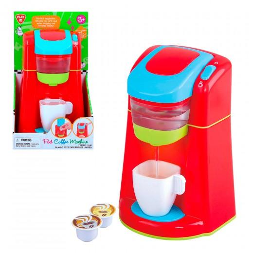 Cafetera de juguete con luz y sonido Playgo