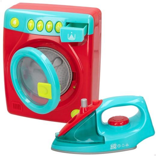 Set plancha y lavadora con luz y sonido PlayGo