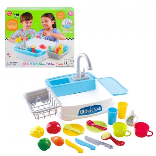 Fregadero eléctrico con accesorios PlayGo