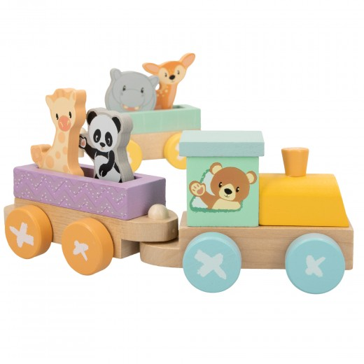 Tren de madera Animalitos WOOMAX Studio Circus