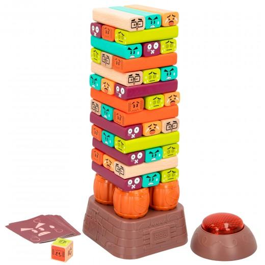 Juego Torre de madera con temporizador WOOMAX