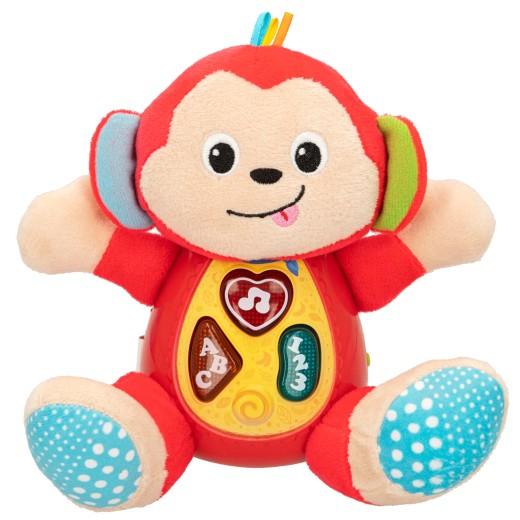 Peluche interactivo Mono canta y aprende Winfun