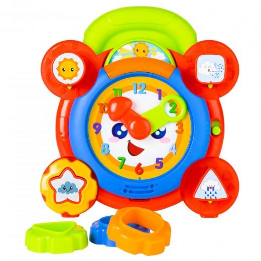 Reloj educativo luz y sonidos Winfun