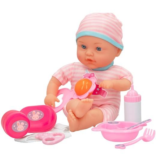 Muñeco bebé blandito con accesorios Colorbaby's