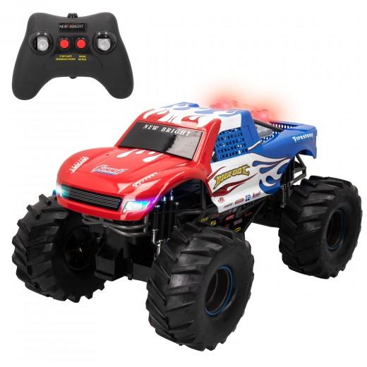 Coche teledirigido 4x4 niños 8 años escala 1:10 Monster Truck New Bright