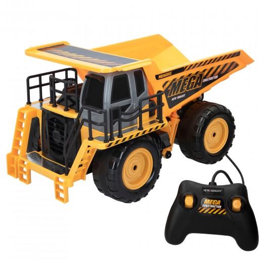 Camión teledirigido niños 3 años Mega Dump Truck New Bright