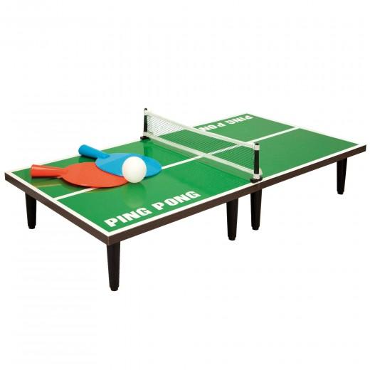 Mesa Ping Pong con palas y pelota 60x30x15,5 cm CB Games