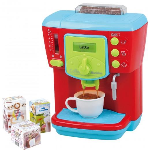 Cafetera de juguete con accesorios PlayGo