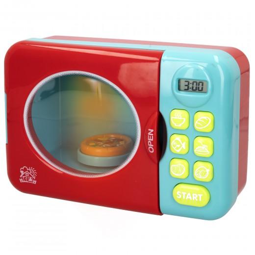 Microondas de juguete con accesorios PlayGo