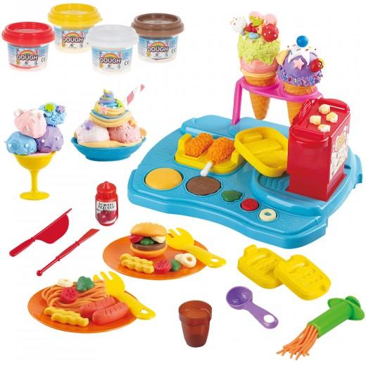 Plastilina para niños juego de plastilina comida PlayGo