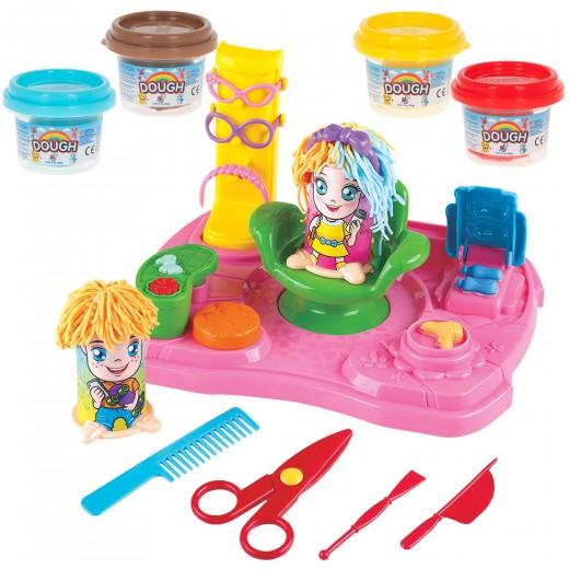 Plastilina para niños juego de plastilina peluquería PlayGo