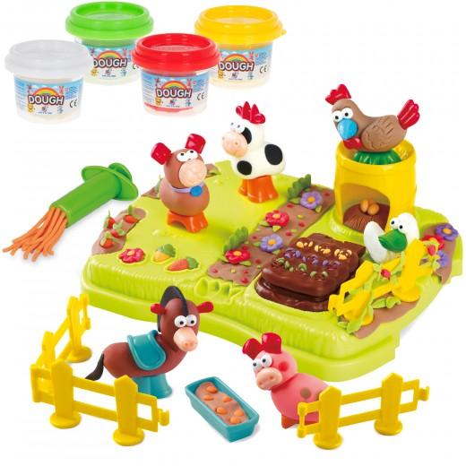 Plastilina juego granja playgo