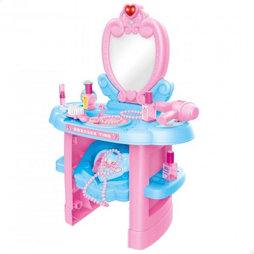 Centro de belleza tocador infantil interactivo Beauty Fashion Princess