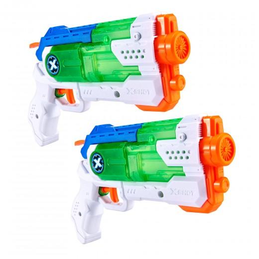 Set 2 pistolas de agua X-Shot