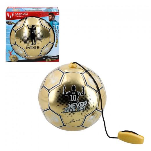 Balón entrenamiento con cuerda Messi Training System Golden Edition