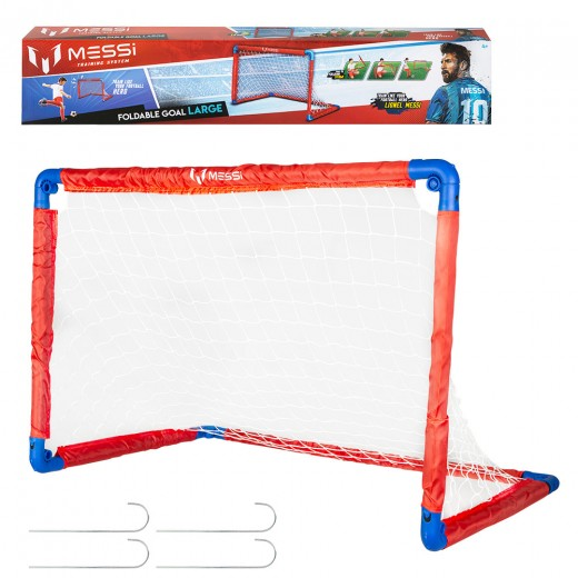 Portería plegable fútbol Messi Training System