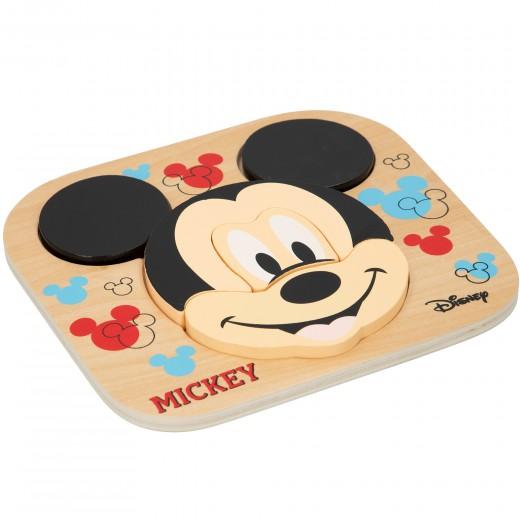 Puzzle madera Mickey 6 piezas WOOMAX Disney